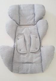 Redutor para bebê conforto - Cinza