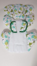 Redutor para bebê conforto - Dino